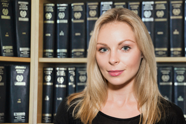 Greek Lawyer - Maya Kozyrava